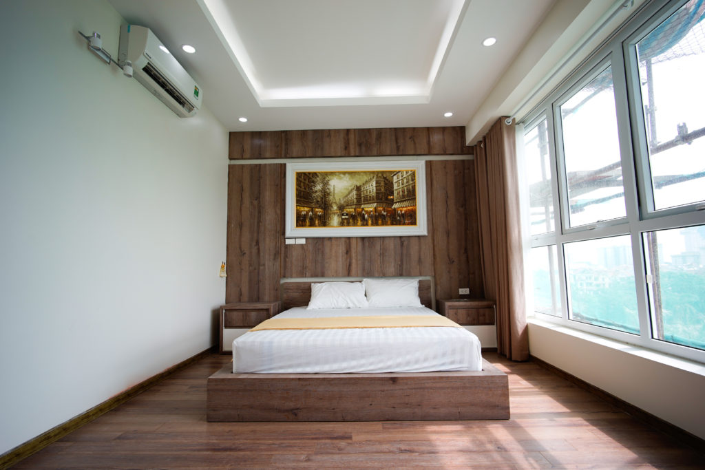 Phòng ngủ chung cư Hacinco Lê Văn Lương