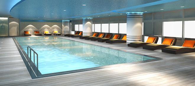 Bể bơi chung cư Ecolife Capitol