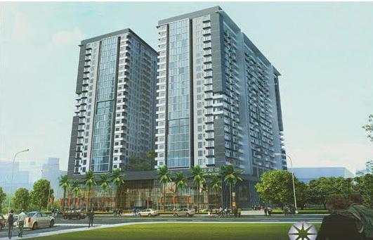 Phối cảnh chung cư Oriental Plaza