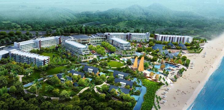Phối cảnh Dự án Tri Việt Hội An Resort