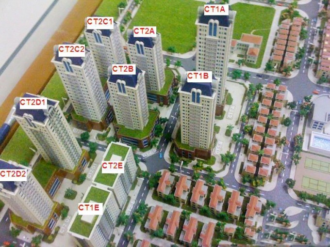 Tổng thể dự án chung cư Mễ Trì Plaza