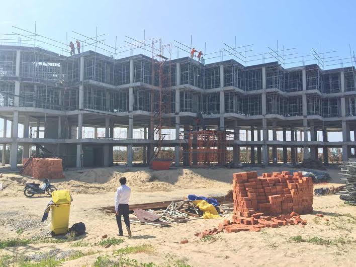 Tiến độ Khách sạn OZO dự án New Hội An City
