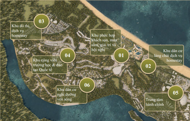 Quy hoạch dự án New Hội An City
