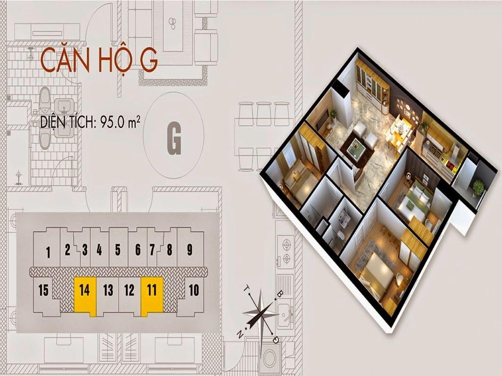 Tòa T02 căn 95 m2 chung cư cho thuê C37 Bộ Công An Bắc Hà Tower