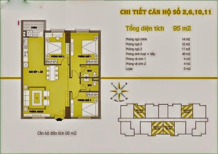 Căn hộ số 2 6 10 11 cho thuê chung cư C37 Bộ Công An