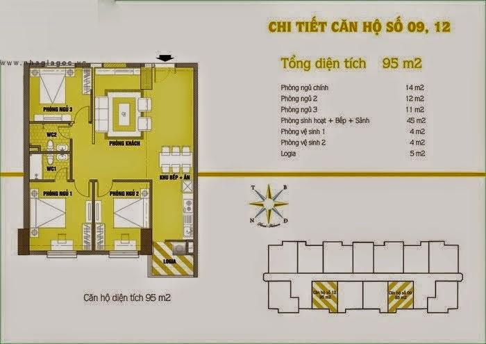 Căn hộ số 9 và 12 cho thuê chung cư C37 Bộ Công An