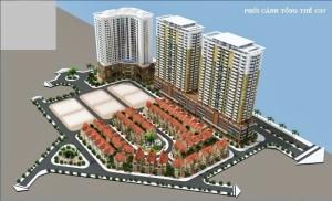 Cho thuê chung cư C37 Bộ Công An Bắc Hà Tower Lê Văn Lương