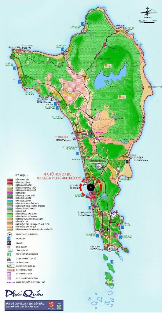Vị trí dự án Sonasea Villas & Resort