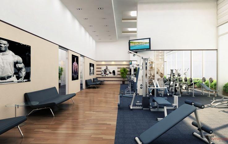 Khu tập Gym chung cư HongKong Tower