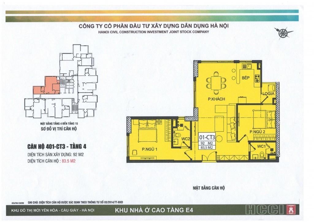 CT3 tầng 4 - 15 căn số 1
