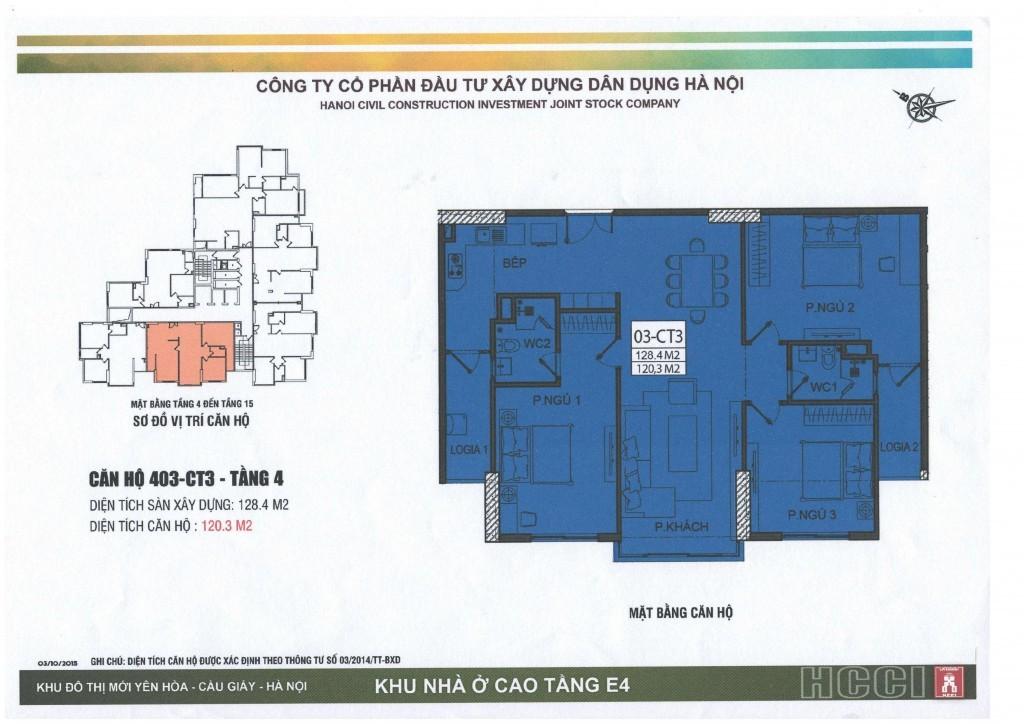 CT3 tầng 4 - 15 căn số 3