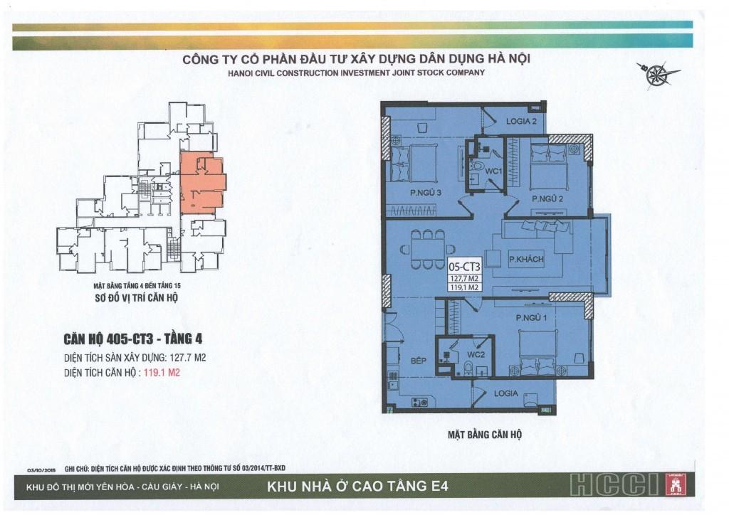 CT3 tầng 4 - 15 căn số 5