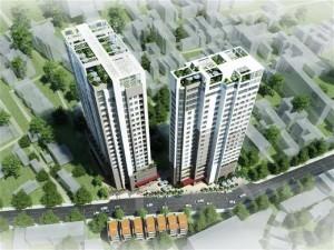 Chung cư 536A Minh Khai chủ đầu tư Vinhud – Vinaconex