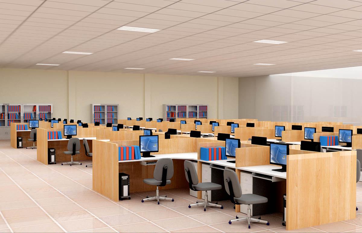Kết quả hình ảnh cho thiết kế bàn làm việc cho văn phòng