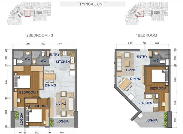 Thiết kế căn hộ chung cư T&T Riverside 440 Vĩnh Hưng 1