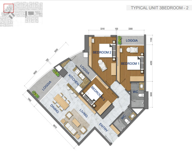 Thiết kế căn hộ chung cư T&T Riverside 440 Vĩnh Hưng 4