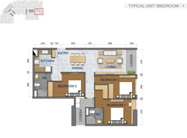Thiết kế căn hộ chung cư T&T Riverside 440 Vĩnh Hưng 3