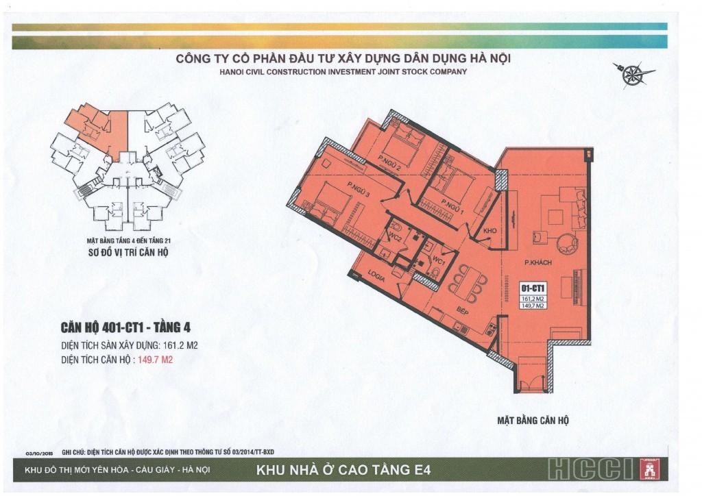 CT1 tầng 4 - 21 căn số 1