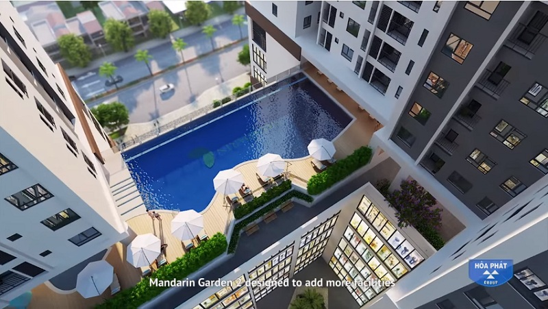 bể bơi tại mandarin garden 2