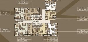 Thiết kế căn hộ Mandarin Garden 2 Tòa A và D