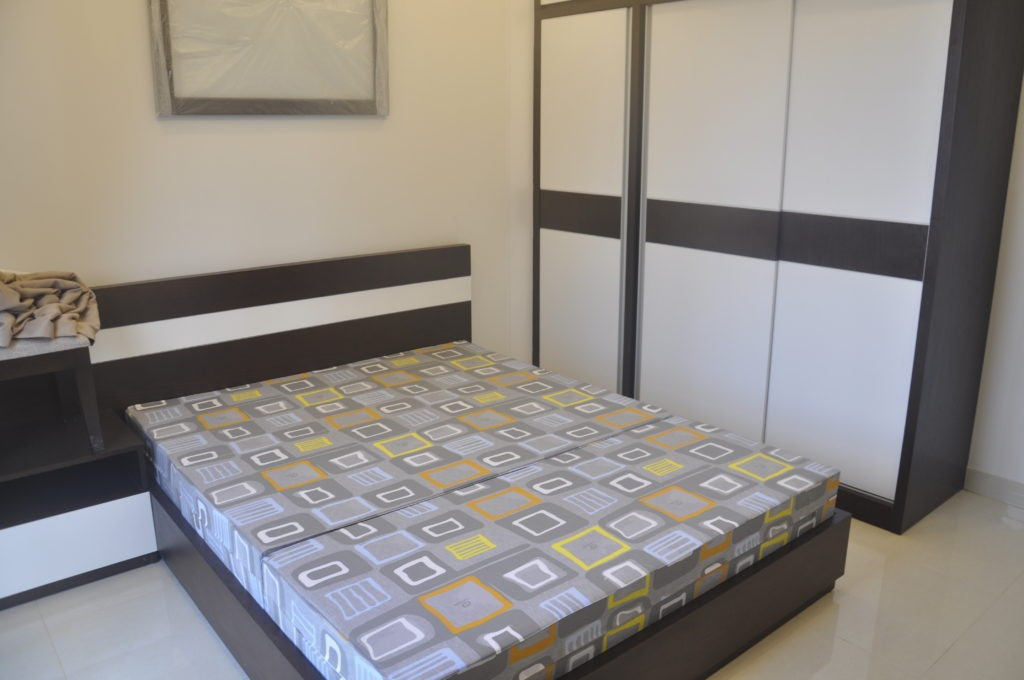 phòng ngủ chung cư kim văn kim lũ tòa c vc2 golden silk