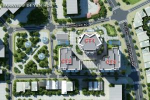 Mặt bằng chung cư E4 Yên Hòa – Park View City