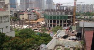 Tiến độ dự án chung cư Park View City E4 Yên Hòa