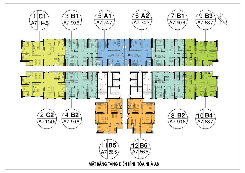 mặt bằng chung cư an bình city tòa a8