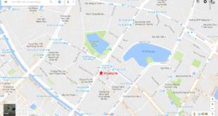 vị trí chung cư 93 Láng Hạ
