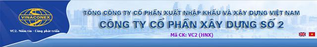 chủ đầu tư vinaconex 2