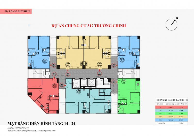 mặt bằng chung cư hamilton complex