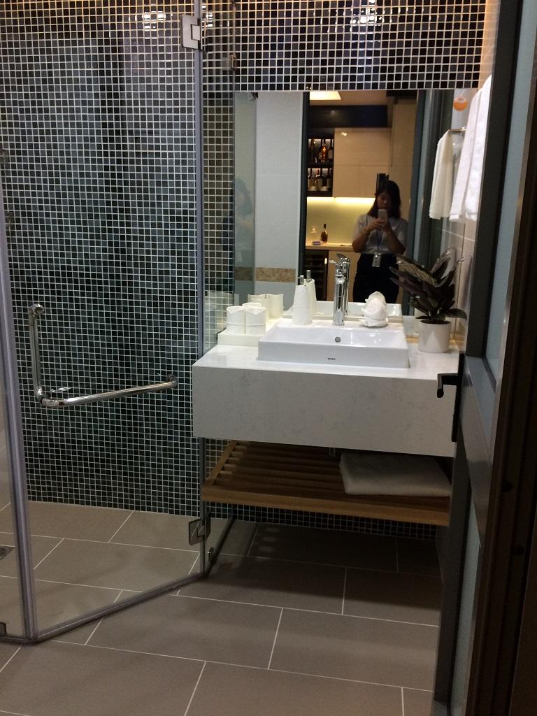 nhà vệ sinh căn hộ mẫu mỹ đình plaza 2