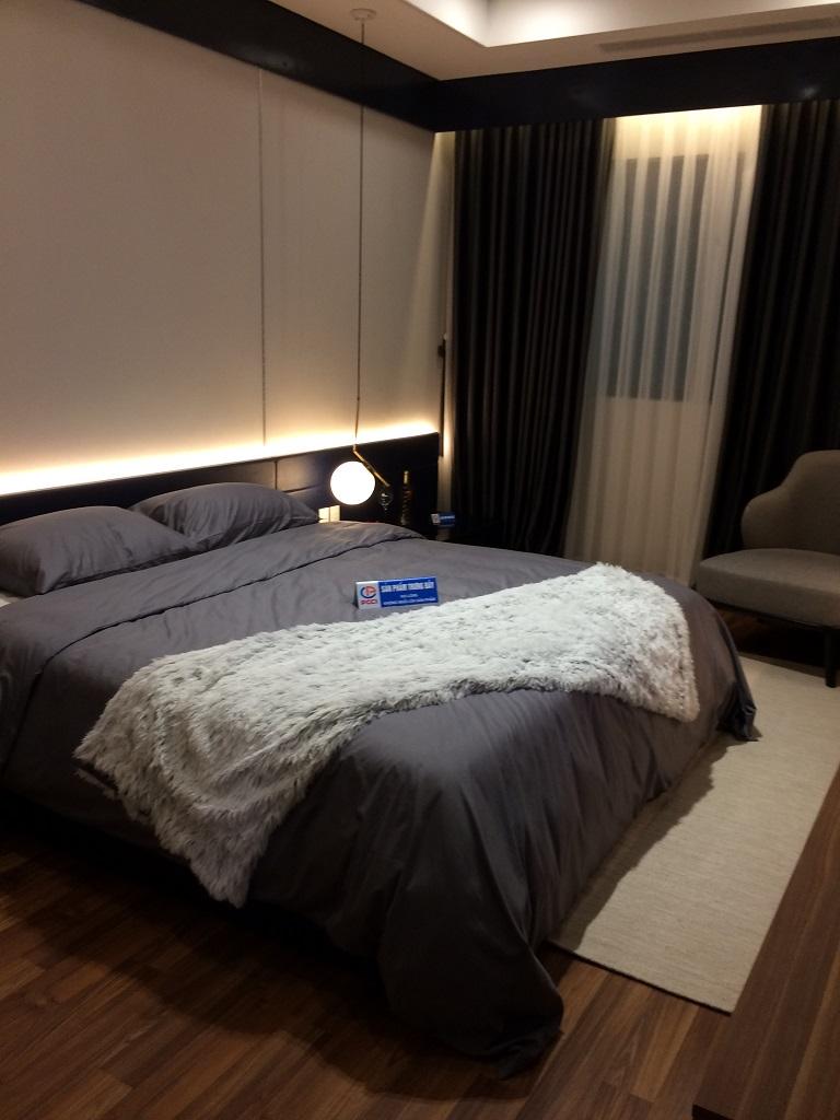 phòng ngủ căn hộ mẫu chung cư mỹ đình plaza 2