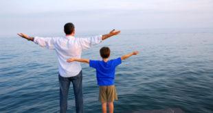 cha dạy con trai