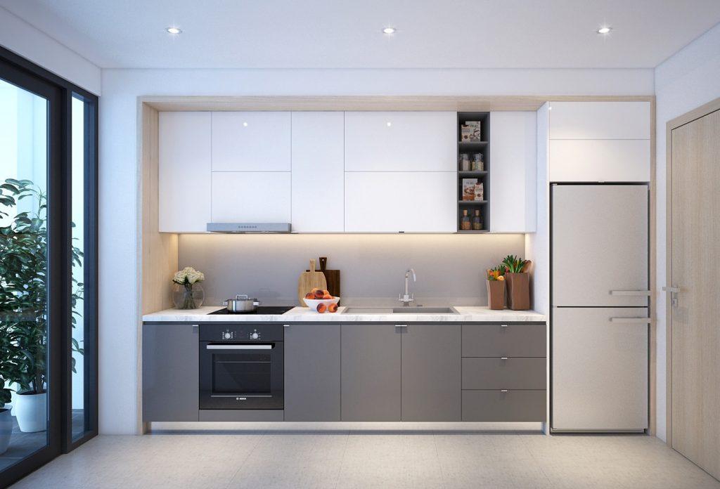 phòng bếp chung cư số 1 trần thủ độ