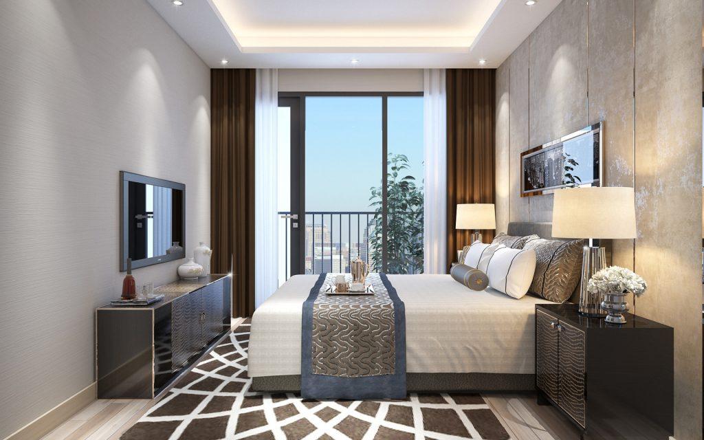 phòng ngủ chung cư số 1 trần thủ độ