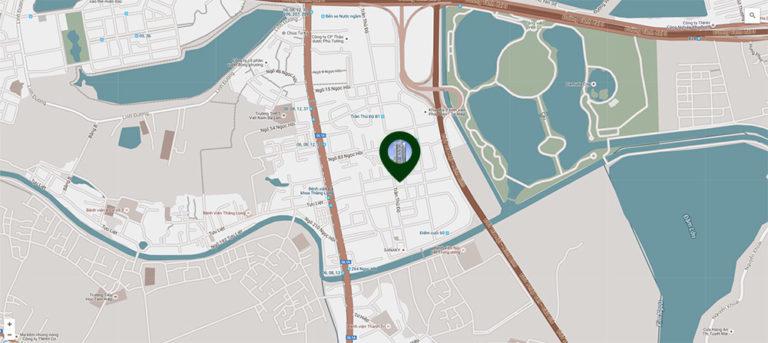 vị trí chung cư phương đồng green park