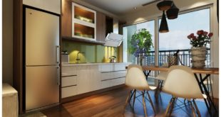 phòng bếp chung cư 219 trung kính