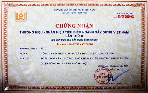 chứng nhận hcci