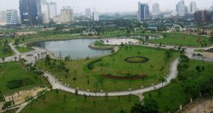 công viên cầu giấy