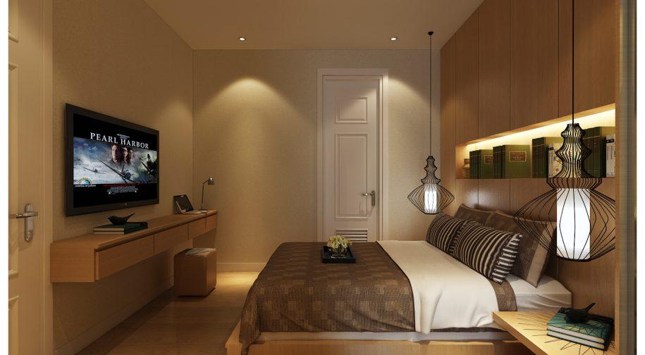 phòng ngủ cho thuê chung cư 219 trung kính
