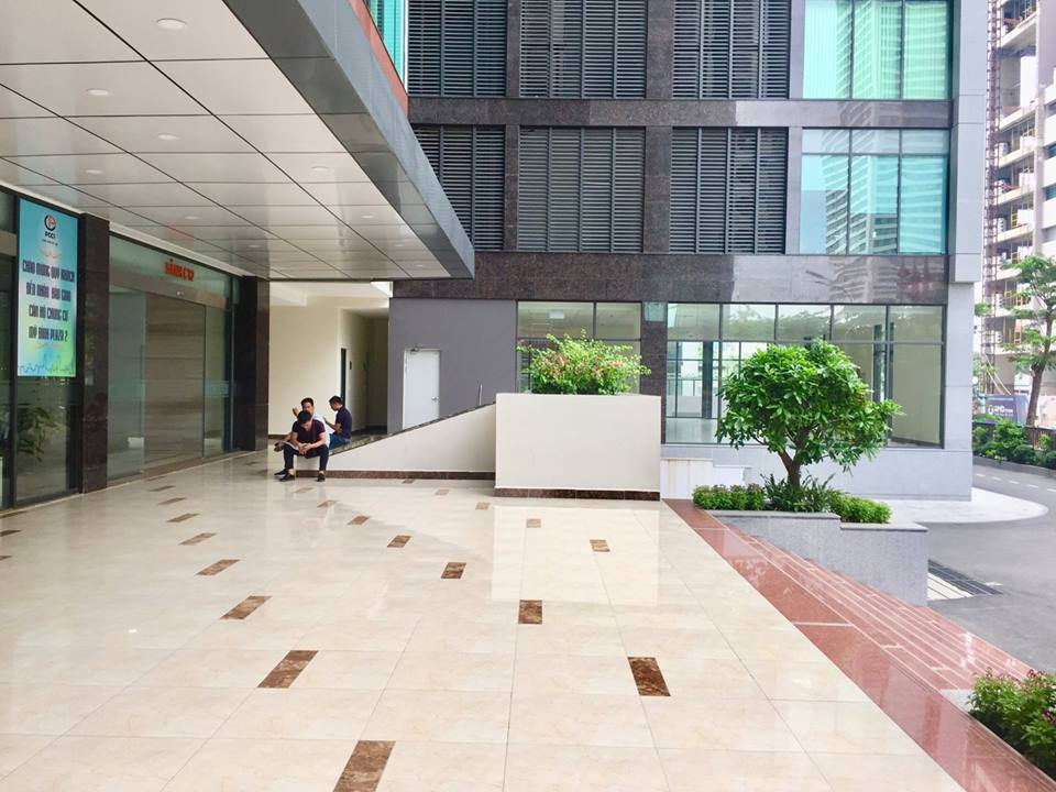 hình ảnh thực tế dự án mỹ đình plaza 2