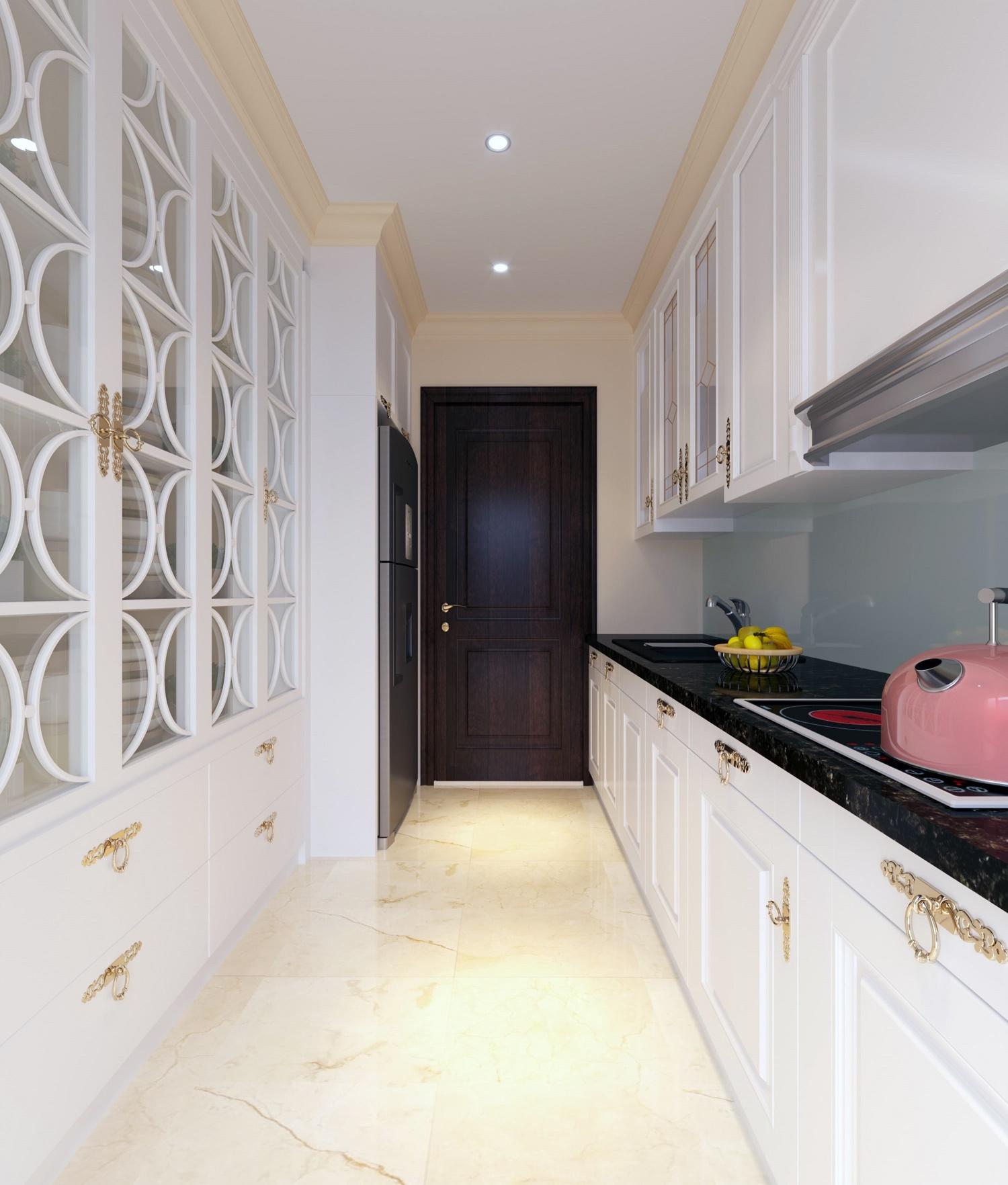 phòng bếp chung cư iris garden