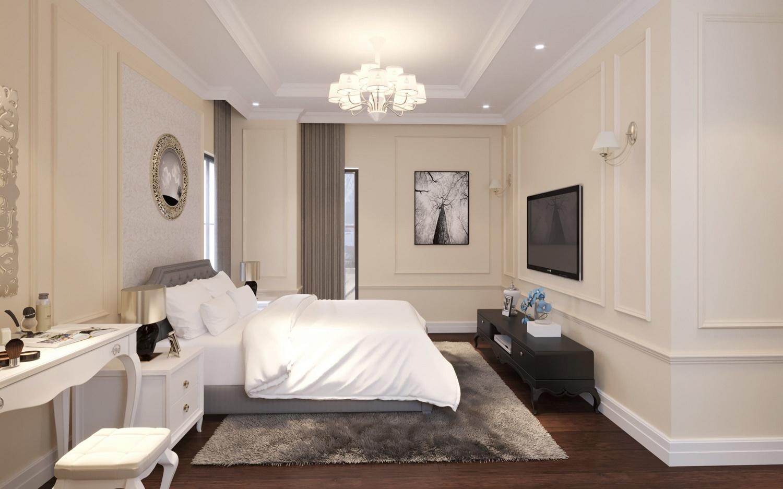 phòng ngủ chung cư iris garden