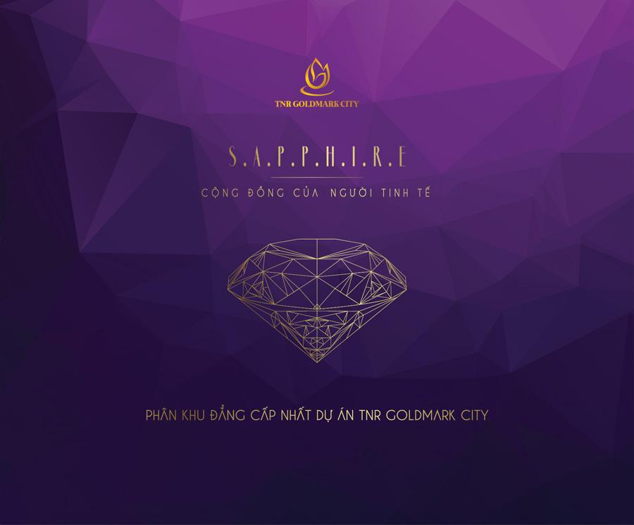 phân khu sapphire goldmark city