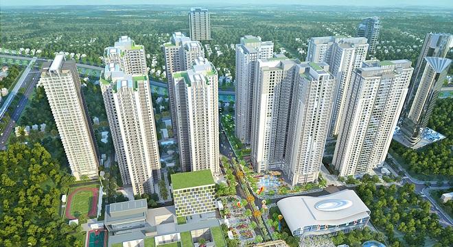 toàn cảnh dự án chung cư goldmark city
