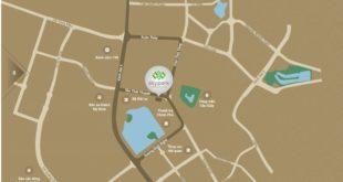 Vị trí chung cư Sky Park Residence Tôn Thất Thuyết