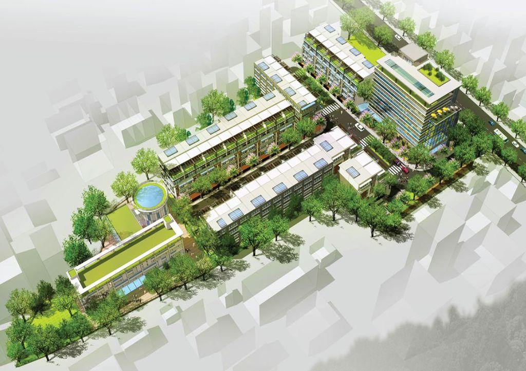 phối cảnh dự án minori village trương định