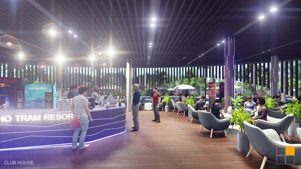 club house dự án osho hồ tràm