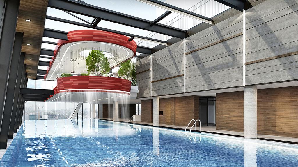bể bơi grandeur palace giảng võ
